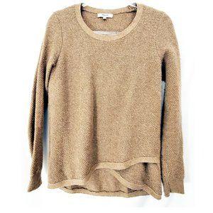 MADEWELL Basketweave Knit Beige Sweater GUC